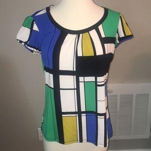 Colorblock top, worthington size m